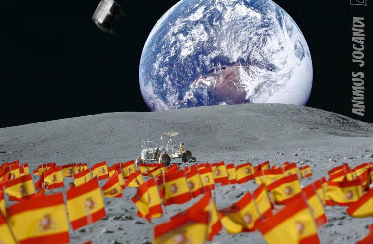 PP, Ciudadanos y Vox, proponen llenar la luna de banderas españolas