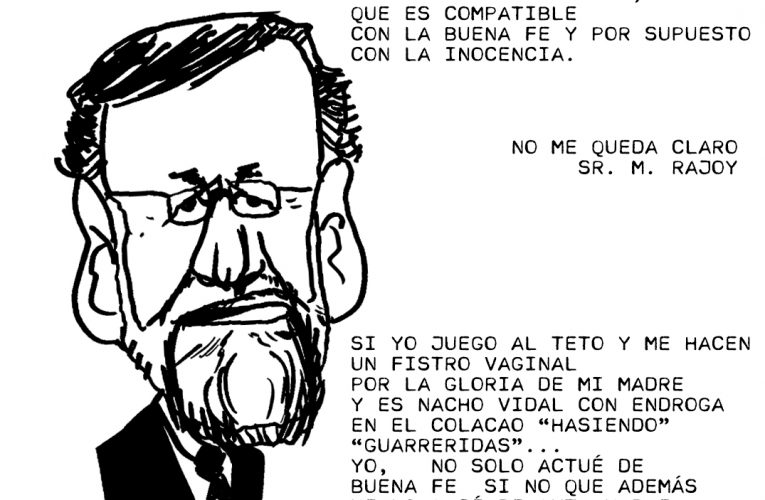 M. Rajoy nos explica la sentencia del caso Gürtel.