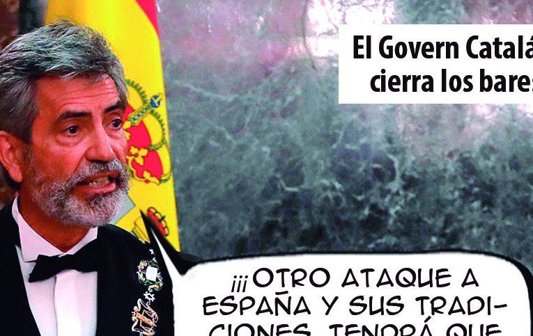 El Govern Catalán cierra los bares