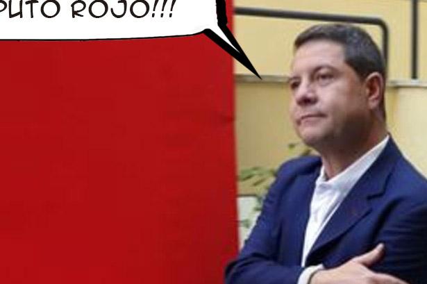 Científicos certifican que el rojo del PSOE es sólo un color corporativo
